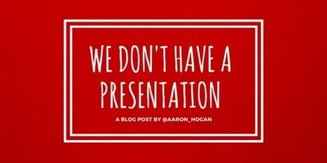 We Don't Have a Presentation #TCEA16 - Leading, Learning, Questioning | 21st Century School Libraries | Scoop.it