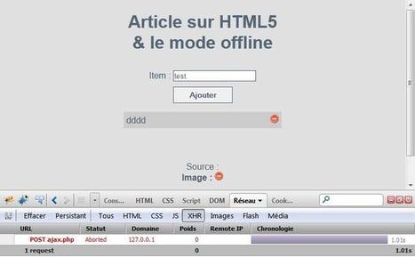 Réaliser une application offline en HTML5 | Time to Learn | Scoop.it