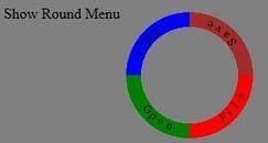 Circular Menu using HTML 5 Canvas - CodeProject   javascript node.js   Scoop.it