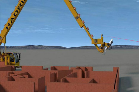 Robotic Bricklayer can Build a House in Two Days | Technology in Business Today | Scoop.it
