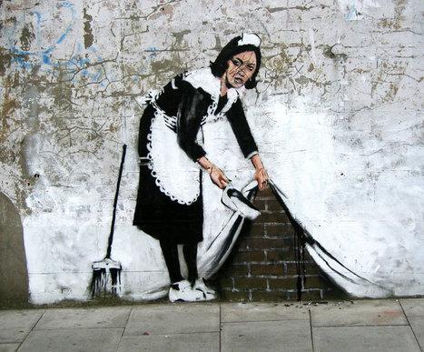 45 Exemples de Street Art créatifs et inspirants « Design Spartan : Graphisme, Webdesign, Digital painting, Illustration… | GRAPHISME | Scoop.it