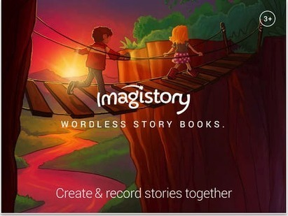 Imagistory- Awesome Digital Storytelling App for Kids  (books without words) | Communications | Scoop.it