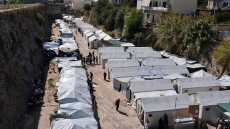 Syrian hurt in attack at Greek island refugee camp | History | Scoop.it