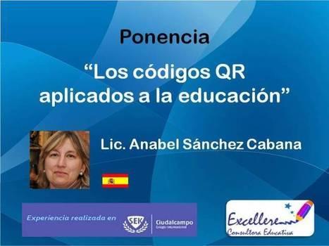 Ponencia Códigos QR aplicados a la educación. Anabel Sanchez Cabana. - Congreso TIC   Realidad Aumentada -   Scoop.it