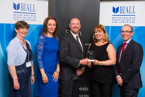Prestigious Award for Bar Council Law Library - Law Library of Ireland - The Bar Council of Ireland | Library Collaboration | Scoop.it