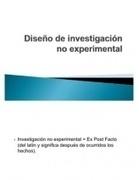 Investigación No experimental.ppt 2010 | definicion y caracteristicas de la investigacion experimental, no experimental y cuasi experimental | Scoop.it