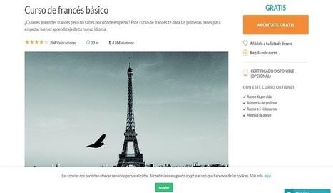 Curso online gratuito para iniciarte en el idioma Francés - Nerdilandia | Educacion, ecologia y TIC | Scoop.it