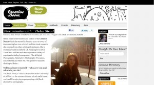Creative Boom Interview: 5 MinutesWith Helen Stead…   Artist Interviews   Scoop.it