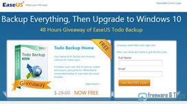 Offre promotionnelle : EaseUS Todo Backup Home 8.5 gratuit ! | Freewares | Scoop.it