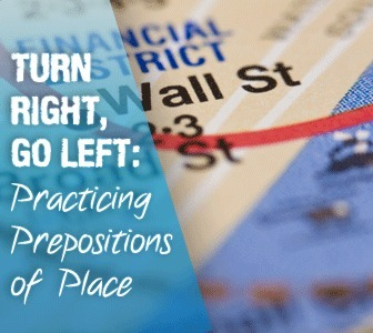 Turn Right, Go Left: Practicing Prepositions of Place | Babylon | Scoop.it