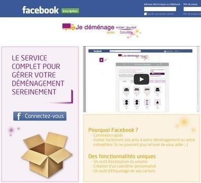 GDF Suez Dolce Vita facilite le déménagement sur Facebook - Relation Client Magazine   Energie   Scoop.it