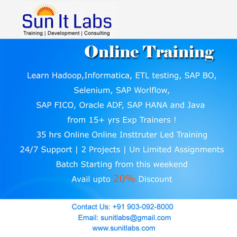 Business Analyst Online Training course classes by professional trainers | hollywall | Scoop.it