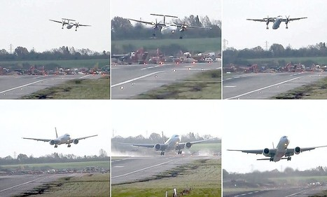 Passengers tell of horror as planes fail to land across Britain | Aviation | Scoop.it
