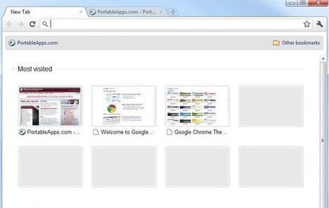 Google Chrome Portable, lleva al rey de los navegadores en tu ¡pendrive' | Tic, Tac... y un poquito más | Scoop.it