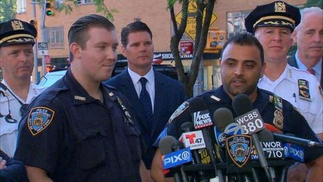 Cops Who Fled Times Square With Suspicious Device Hailed as Heroes   Police Problems and Policy   Scoop.it