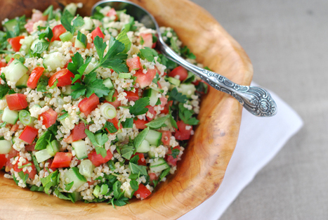 Alkaline Recipes: Refreshing Tabbouleh | The Basic Life | Scoop.it