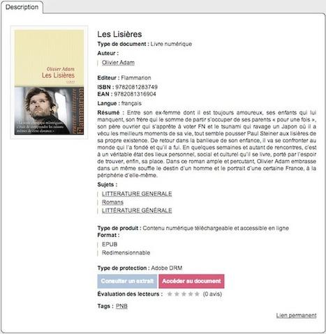 Première approche de PNB pour les bibliothécaires français - Actualitté.com   bibliothécaire assistant spécialisé   Scoop.it