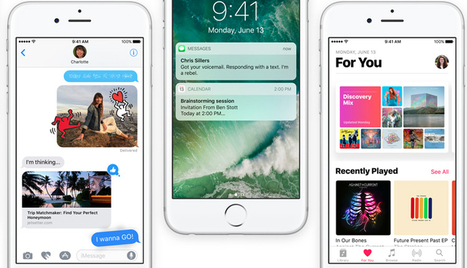 9 new iOS 10 features Apple 'stole' from third-party apps | Iris Scans and Biometrics | Scoop.it