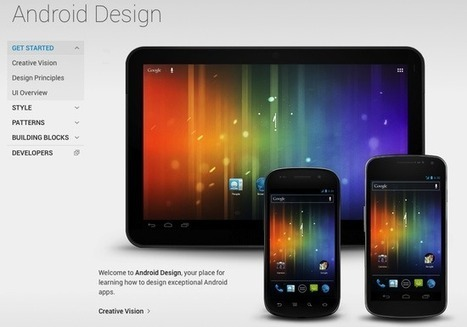 Google Launches Android Design Site to Promote Consistency at Padvance | Choose Your OS | Scoop.it