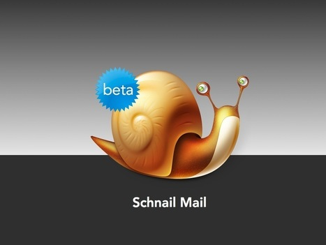 Aral Balkan—Schnail Mail: free real mail for life! | Digital Societies of Control | Scoop.it