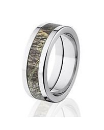 Mossy Oak Camo Wedding Rings, Mossy Oak Wedding Bands, Mossy Oak Camouflage Rings - The Jewelry Source | Camo rings for men | Scoop.it