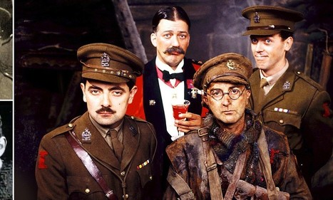 """Heroic ancestors of  Blackadder stars who reveal truth about the Great War... And sorry, Baldrick, they prove Mr Gove was right 