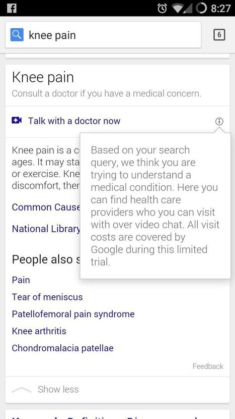 Google Is Testing A New Search Feature That Could Change The Way You Visit Doctors | healthcare is digital, social & mobile | Scoop.it