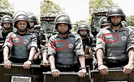 Identificação Policial. Quando o Estado esconde, ele assume o crime. | Advogados Ativistas | Anonimato da polícia | Scoop.it