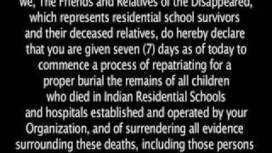 "Hidden From History: Untold Story of Aboriginal Genocide - ‎""WHO IS PAYING FOR THE CRIMES AGAINST THE CHILDREN?"" - #IDLENOMORE 
