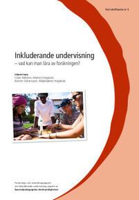 Ny rapport om inkluderande undervisning i skolans praktik | Folkbildning på nätet | Scoop.it