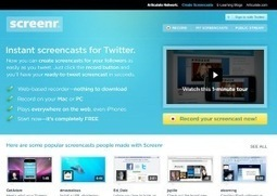 8 herramientas gratis para crear video tutoriales | Observatorio TIC y Educación | Scoop.it