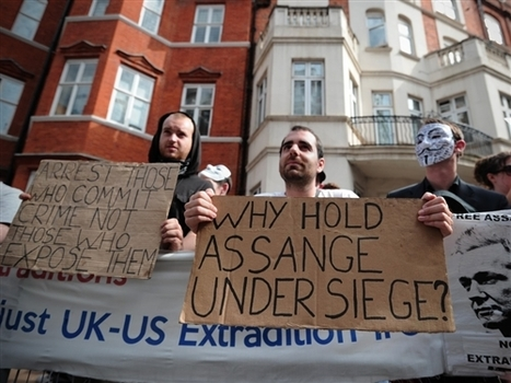 International law issues: Assange speaks in London | NDSU Comparative Criminology Study Abroad | Scoop.it