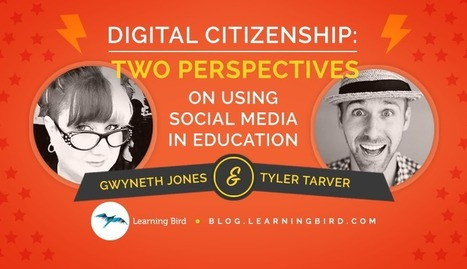 Digital Citizenship: Two Perspectives on Using Social Media in Education | Digital Literacy in the Library | Scoop.it