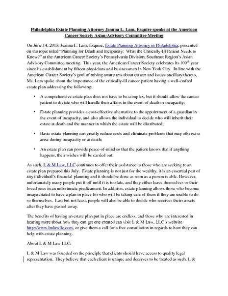 Estate Planning Attorney in Philadelphia - PDF | Estate Planning Attorney in Philadelphia | Scoop.it