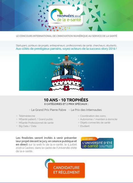Festival de la Communication Santé partenaire de l'Université d'été de la E-santé | Festival de la Communication Santé | Scoop.it