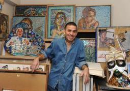 Legendary painter Manny Vega is back in East Harlem doing what he does best: creating another mural masterwork | Technology in Art And Education | Scoop.it