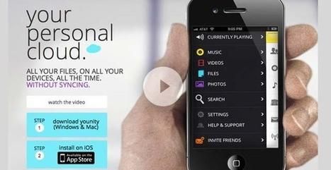 Crea tu propia nube con Younity (iOS)   Uso inteligente de las herramientas TIC   Scoop.it