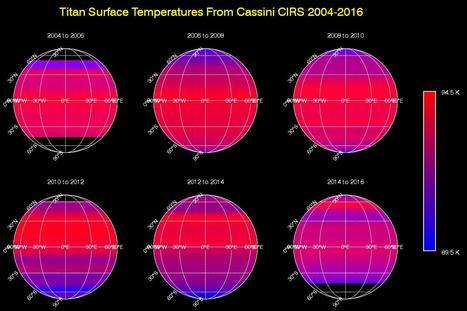 Come variano le temperature sulla superficie di Titano! | Space & Astronony | Scoop.it