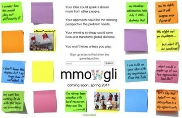 MMOWGLI: An Experiment in Generating Collective Intelligence | Functional Finds - Design, Technology & Media | Scoop.it