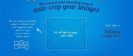 Cropp.me | The easiest and smartest online crop tool | Web mobile - UI Design - Html5-CSS3 | Scoop.it