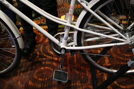 Connected Cycle's Smart Pedal Prevents Theft, Provides Analytics About Your Ride | 2014 | Scoop.it