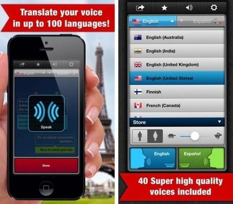 5 aplicaciones de traducción simultánea para tu smartphone | Aprendiendoaenseñar | Scoop.it