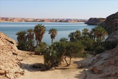 Tchad : A la découverte du Lac Ounianga... | Les déserts dans le monde | Scoop.it