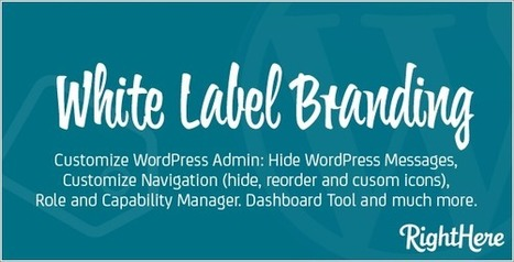 White Label Branding for WordPress v4.0.1.57175 Download - Download Full Nulled Scripts | WooCommerce Extensions Nulled Download | Scoop.it