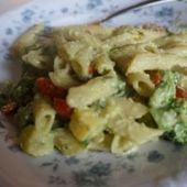 Penne with creamy cashew-avocado sauce for a veggie overload on Meatless Monday | My Vegan recipes | Scoop.it