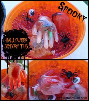 Halloween Sensory Tub | Fiestas & Fêtes pour les petits | Scoop.it