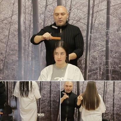 Como cortar una melena larga redondeada de un solo tijeretazo | Boris Soler | Boris Soler | Scoop.it