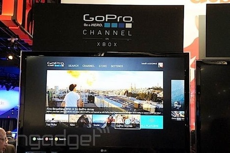GoPro Channel with exclusive content launches on Xbox 360 tomorrow | Blackberry Castle Productions-Photography, inc. | Scoop.it