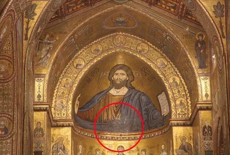 Monreale, Duomo danneggiato dalla  pioggia: rovinato il mosaico del Cristo | Capire l'arte | Scoop.it