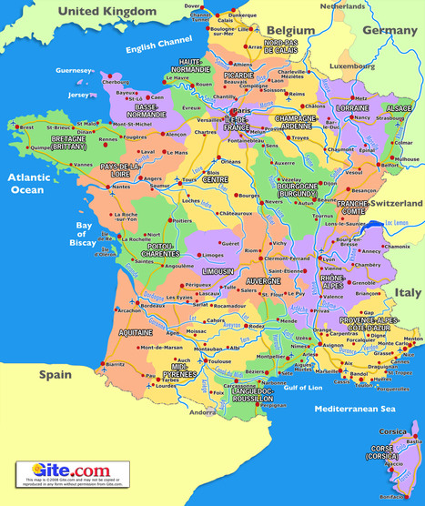 French Geography | Robinson France | Scoop.it